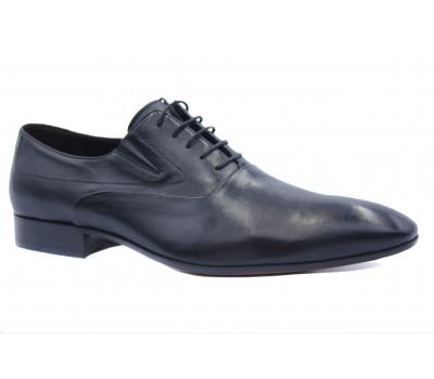Туфли ROMIT кожаные черные 10366
