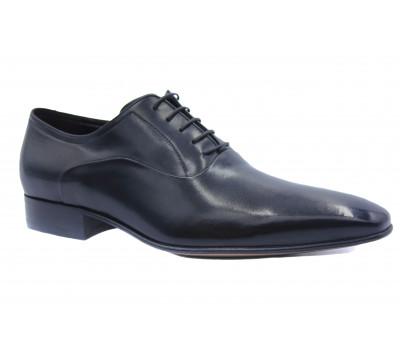 Туфли ROMIT кожаные черные 10871