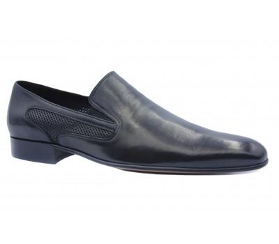 Туфли ROMIT кожаные черные 10956