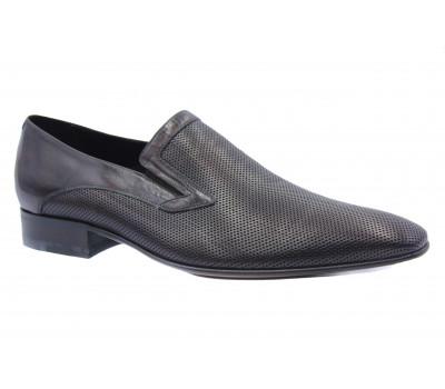 Туфли ROMIT кожаные темно-коричневые 10900