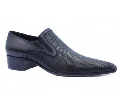 Туфли ROMIT кожаные черные 11078