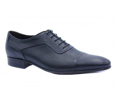 Туфли ROMIT кожаные черные 16257