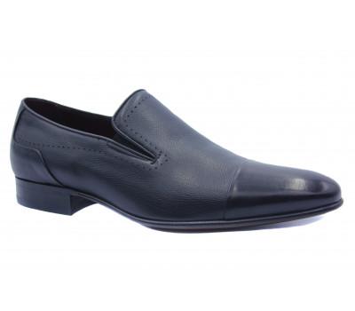 Туфли ROMIT кожаные черные 16283