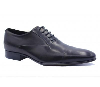 Туфли ROMIT кожаные черные 14255