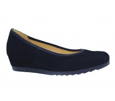 Туфли Gabor замшевые черные 82641.47