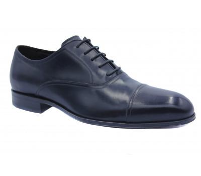 Туфли ROMIT кожаные черные 16214