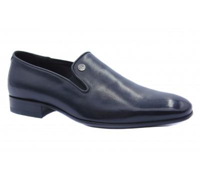 Туфли ROMIT кожаные черные 14677
