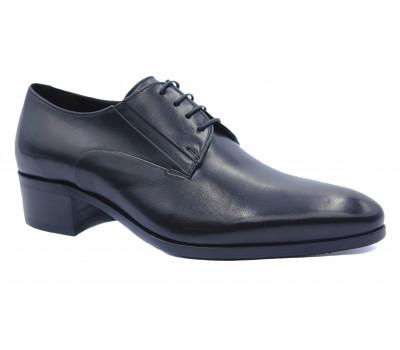 Демисезонные туфли ROMIT кожаные черные 13977