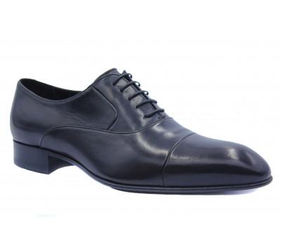Туфли ROMIT кожаные черные 14327