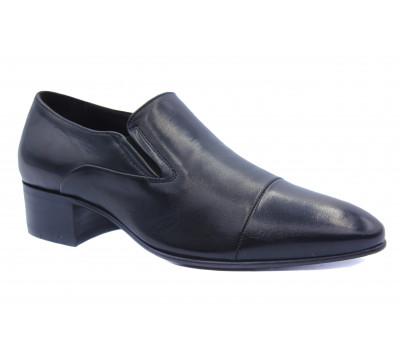 Туфли ROMIT кожаные черные 13564