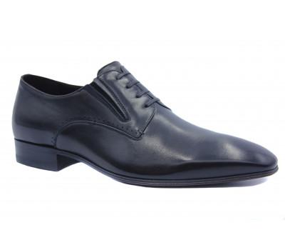 Туфли ROMIT кожаные черные 13656