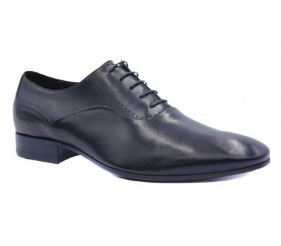 Туфли ROMIT кожаные черные 13481