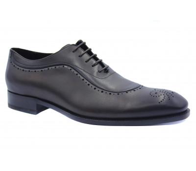 Туфли ROMIT HAND MADE кожаные темно-коричневые 11250