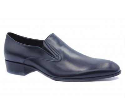 Туфли ROMIT кожаные черные 15087