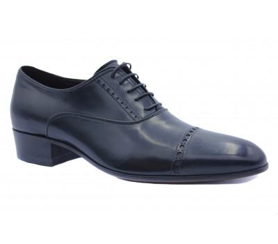 Туфли ROMIT кожаные черные 12850/1