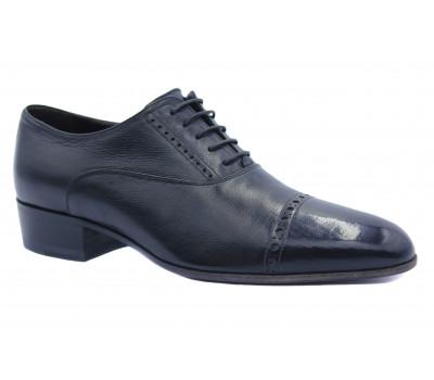 Туфли ROMIT кожаные черные 12850