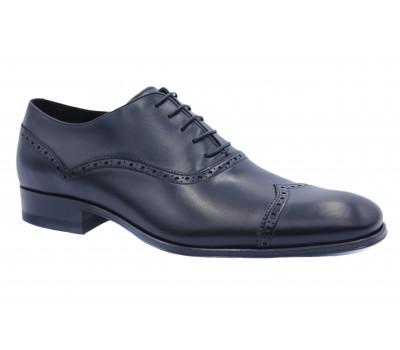 Туфли ROMIT кожаные черные 12842
