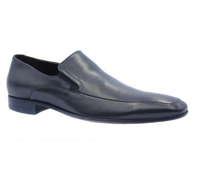 Туфли ROMIT кожаные черные 10899