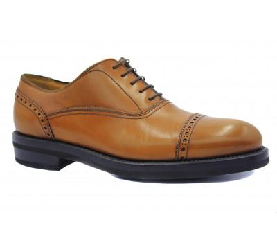 Туфли ROMIT HAND MADE кожаные рыжие 13982