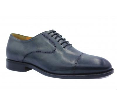Туфли ROMIT HAND MADE кожаные серые 14759