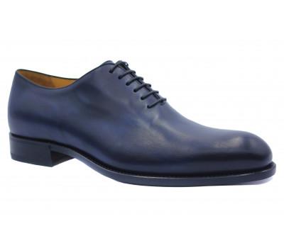 Туфли ROMIT HAND MADE кожаные темно-синие 14759