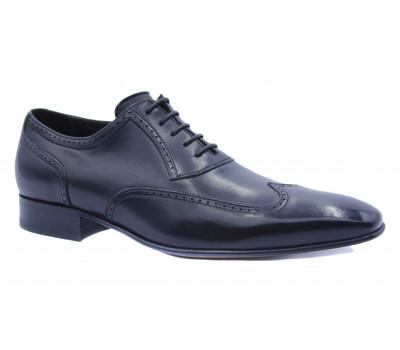 Туфли ROMIT кожаные черные 10898