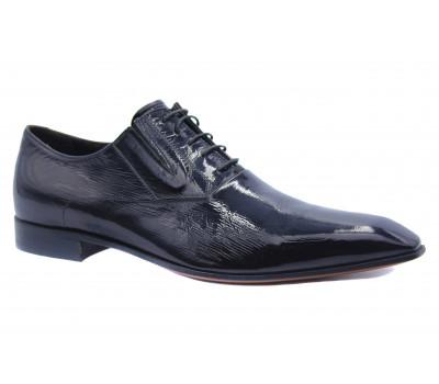 Туфли ROMIT из лакированной кожи черные 10346