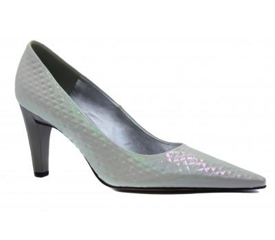 Модельные туфли Peter Kaiser из лакированной кожи белые 73701-290