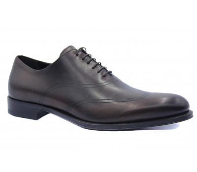 Туфли ROMIT HAND MADE кожаные темно-коричневые 10606