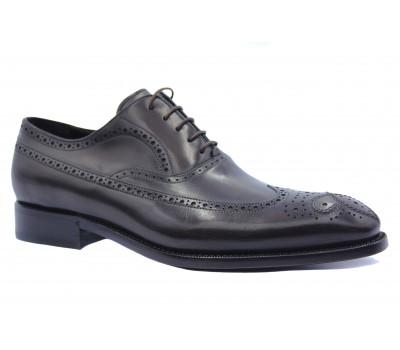 Туфли ROMIT HAND MADE кожаные темно-коричневые 11225