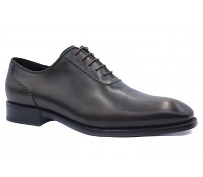 Туфли ROMIT HAND MADE кожаные темно-коричневые 11397