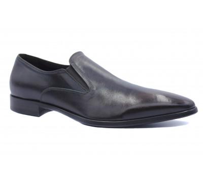 Демисезонные туфли ROMIT кожаные коричневые 10611