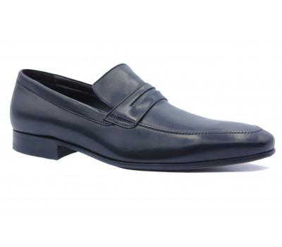 Туфли ROMIT кожаные черные 10993