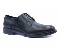 Зимние туфли ROMIT HAND MADE кожаные черные