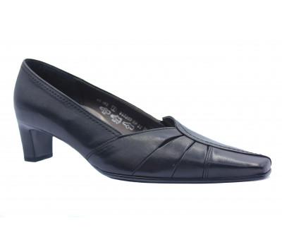 Модельные туфли Gabor кожаные черные 66082