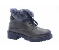 Зимние ботинки Dockers кожаные серые