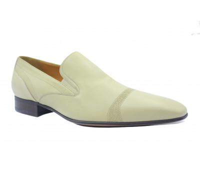Туфли ROMIT кожаные бежевые 10894