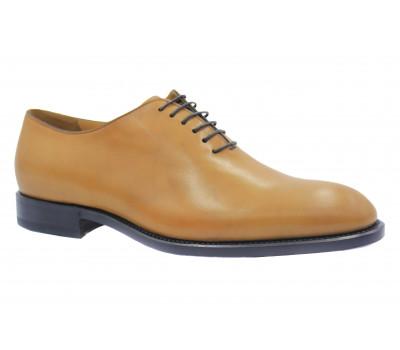 Туфли ROMIT HAND MADE кожаные рыжие 14759