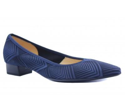 Туфли Peter Kaiser кожа/текстиль синие 22189-971