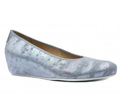 Туфли Наssia серебряные из крека 5-302117
