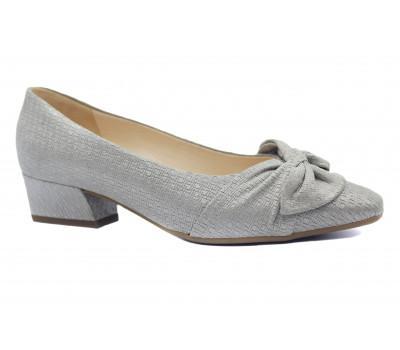 Туфли Peter Kaiser из крека серебро 26127-604