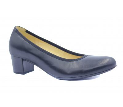 Туфли Gabor кожаные черные 65380