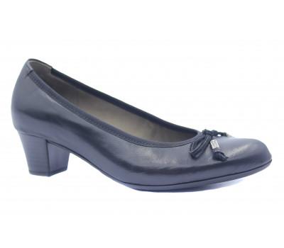 Туфли Gabor кожаные черные 75382
