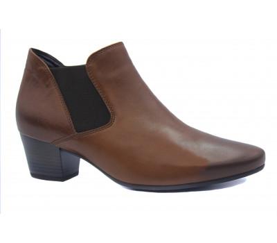 Ботильоны Gabor кожаные коричневые 36532