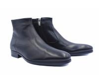 Зимние сапоги ROMIT кожаные черные