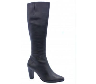 Сапоги осенние Hogl кожаные черные 6-107450