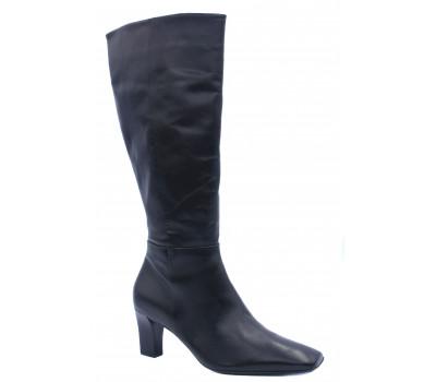 Демисезонные сапоги Hogl кожаные черные 8-106100
