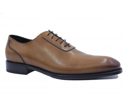 Туфли ROMIT HAND MADE кожаные рыжие 11191
