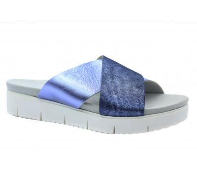 Сабо Gabor кожаные синие 82700