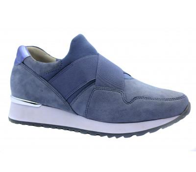 Кроссовки Gabor замшевые голубые 86377